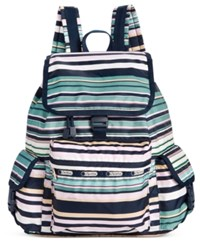 Le Sport Sac Lesportsac Voyager Backpack Beach Stripe