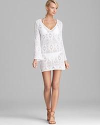 Milly Crochet Lace Mykonos Cover Up Tunic