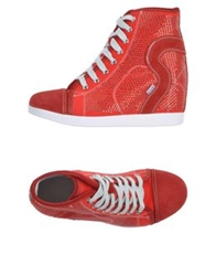 Ruco Line High Tops And Trainers Red