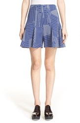 Women's Opening Ceremony 'Penn' Parking Lot Jacquard Shorts