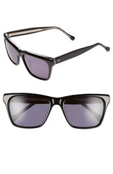 Women's Steven Alan 'Pelton' 56Mm Retro Sunglasses Black