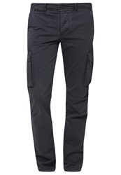 Harrington Cargo Trousers Marine Dark Blue