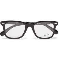 Ray Ban D Frame Acetate Optical Glasses Black