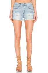 Blank Nyc Distressed Cut Off Short Secret Box