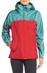 Patagonia Women's 'Torrentshell' Waterproof Jacket French Red