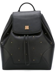 Mcm 'Claudia Studs' Backpack Black