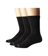 Drymax Sport Thin Run Crew 3 Pack Black Crew Cut Socks Shoes