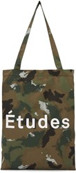Etudes Studio Brown Camo October Tote