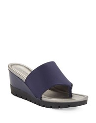 Bandolino Meadoe Thong Sandals Navy Blue