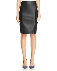 Bailey 44 Simon Faux Leather Pencil Skirt Black
