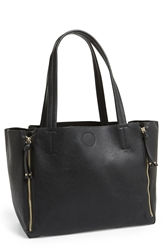 Bp Expandable Zip Tote Juniors Black