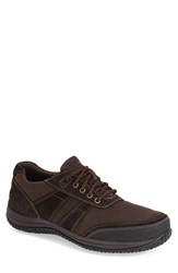 Men's Rockport 'Walk360 Walking Mudguard' Oxford Sneaker Brown