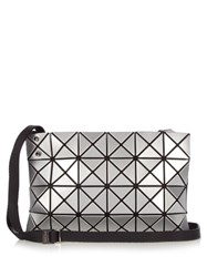 Issey Miyake Lucent Basic Cross Body Bag Silver
