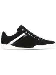 Christian Dior Homme Lace Up Sneakers Black