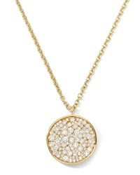 Stardust 18K Diamond Disc Pendant Necklace Ippolita Red
