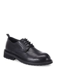 Ann Demeulemeester Leather Lace Up Oxfords Black