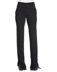 Maiyet High Waisted Flared Pants
