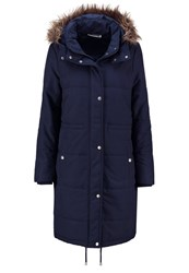 Noisy May Nmcamil Parka Total Eclipse Dark Blue