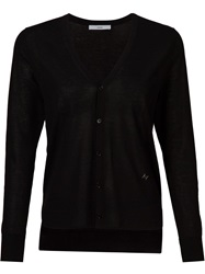 Astraet Lightweight V Neck Cardigan Black