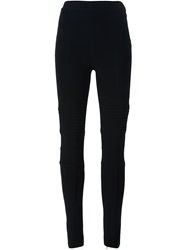 Givenchy Biker Style Leggings Black