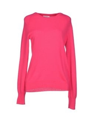 Equipment Femme Sweaters Fuchsia