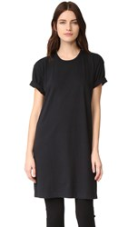 Oak Washed Tee Dress Black