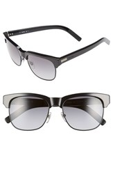 Men's Jack Spade 'Snyder' 54Mm Sunglasses Shiny Black