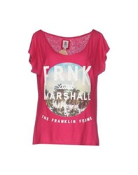 Franklin And Marshall Topwear T Shirts Women