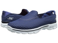 Skechers Performance Go Walk 3 Navy Blue Women's Flat Shoes Multi