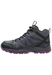 Merrell Capra Rise Mid Wtpf Walking Boots Grey Purple