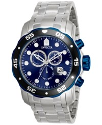 Invicta Men's Chronograph Pro Diver Stainless Steel Bracelet Watch 48Mm 80044