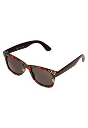 Evenandodd Sunglasses Black Red Green