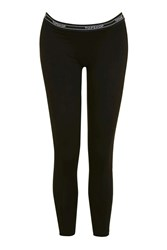 Topshop Maternity Leggings Black