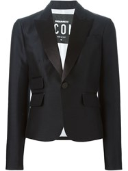 Dsquared2 Cropped Blazer Black