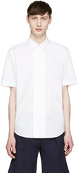 Carven White Short Sleeve Shirt