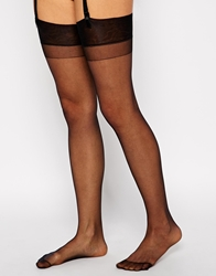 Gipsy Satin Sheer Stockings Black