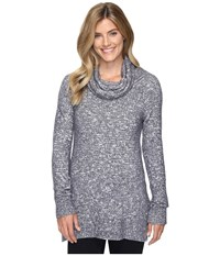 Exofficio Lorelei Infinity Cowl Neck Carbon Heather Women's Sweater Gray