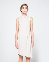 Correll Correll Arc Dress In Light Grey