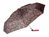 Marc By Marc Jacobs Painted Leopard Umbrella Raspberry Sorbet Multi Umbrella Brown