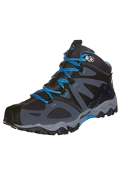 Merrell Grasshopper Sport Mid Gtx Walking Shoes Black