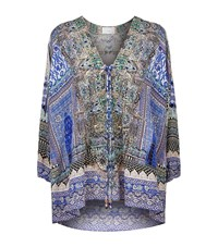 Camilla Embellished Tunic Top Female Multi