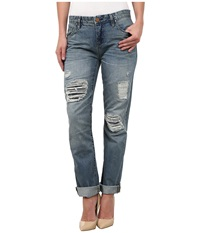 Blank Nyc Boyfriend In Blue Blue Women's Jeans