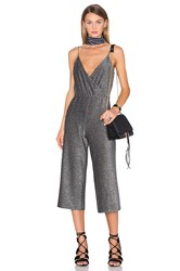 House Of Harlow X Revolve Rory Jumpsuit Metallic Silver