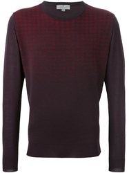 Canali Gradient Effect Jumper Red