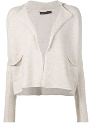 The Row 'Brita' Cardigan Nude And Neutrals
