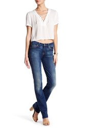 7 For All Mankind Karah Straight Leg Jean Blue