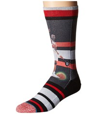 Stance Dikembe Mutombo Trading Card Red Men's Crew Cut Socks Shoes