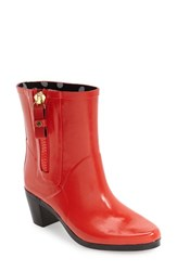 Kate Spade Women's New York 'Penny' Rain Boot Red