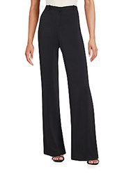 Versace First Line Solid Flare Pants Black
