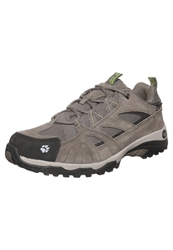 Jack Wolfskin Vojo Hiking Shoes Parrot Green Light Brown